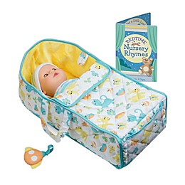Melissa & Doug® 3-Piece Portable Cloth Bassinet Playset