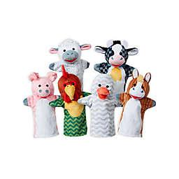 Melissa & Doug® 6-Piece Barn Buddies Hand Puppets