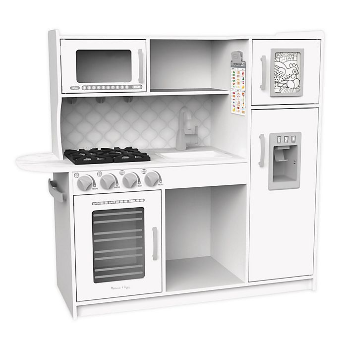 Alternate image 1 for Melissa & Doug® Chef's Kitchen Play Kitchen in Cloud