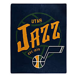 NBA Utah Jazz Super-Plush Raschel Throw Blanket
