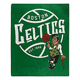 NBA Boston Celtics Super-Plush Raschel Throw Blanket