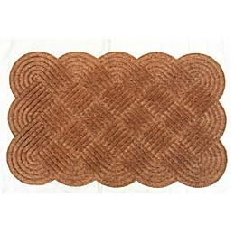 Knot 20-Inch x 30-Inch Coir Door Mat in Natural