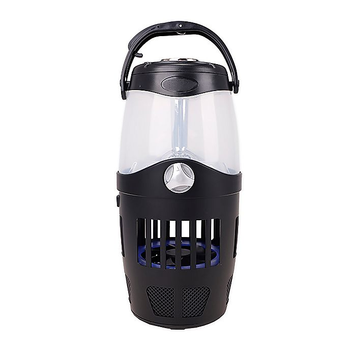 Alternate image 1 for iTerminate Bluetooth Speaker and Bug Zapper Lantern