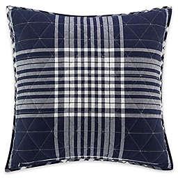 UGG™ Terra European Pillow Sham in Navy Plaid