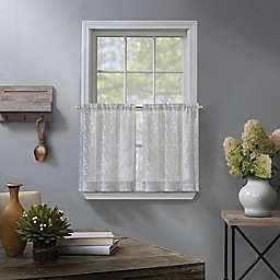 Fairview Window Curtain Tiers in White (Set of 2)