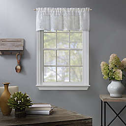 Fairview Window Valance in White