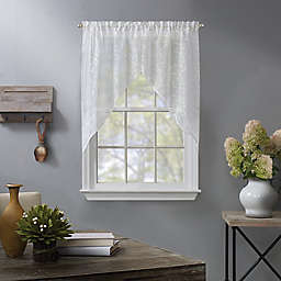 Fairview Window Swags in White (Set of 2)