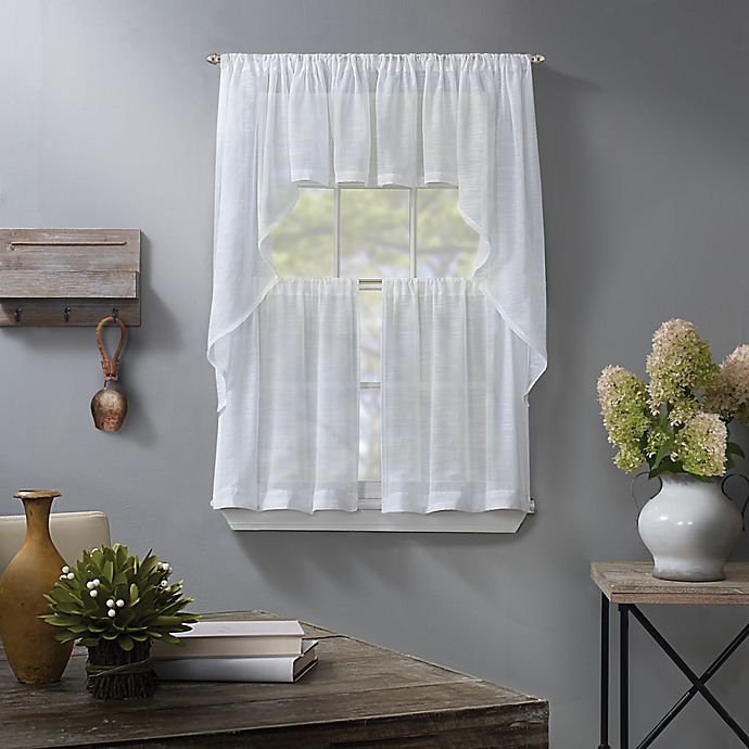 Alternate image 1 for Linden Sheer WIndow Curtain Collection