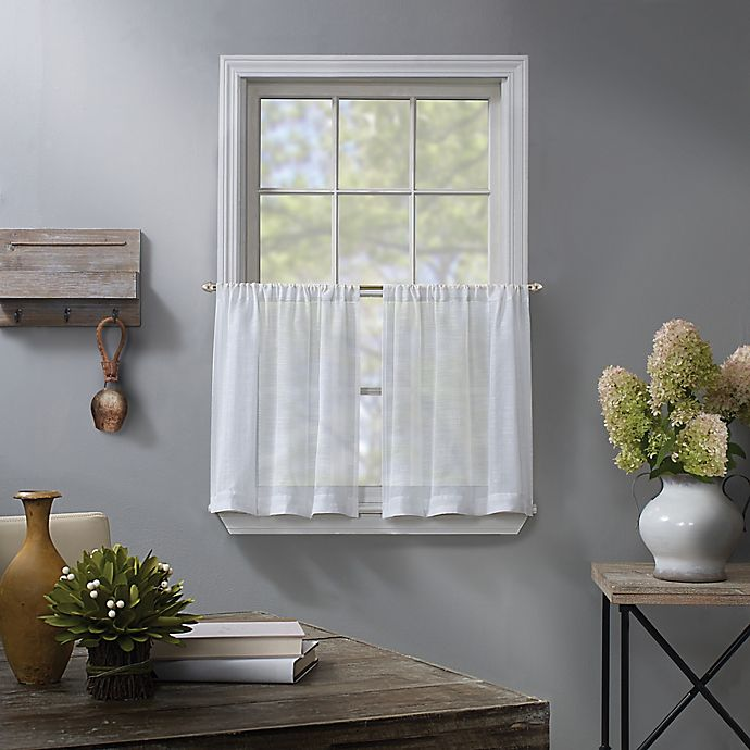Alternate image 1 for Linden Sheer Window Curtain Tier Pair