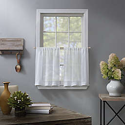 Linden Sheer Window Curtain Tier Pair