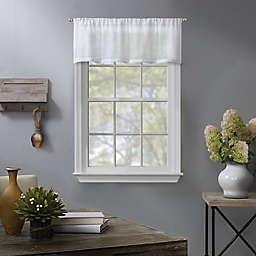 Linden Window Valance in White