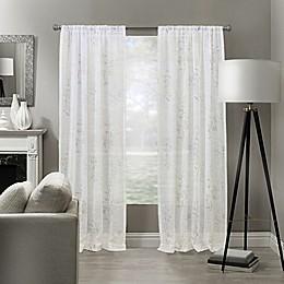 Woodlyn Rod Pocket Sheer Window Curtain Panel