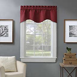 Piper Window Valance in Berry