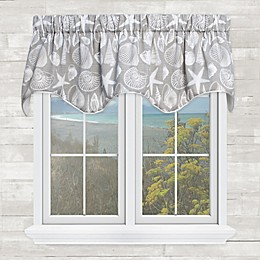 Shoreline Scalloped Valance in Nickel