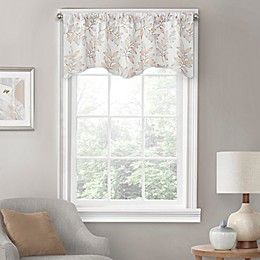 Eden Embroidered Scalloped Lined Valance