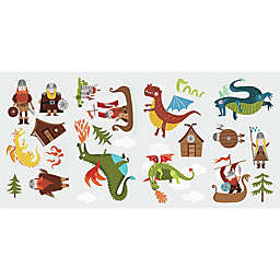 RoomMates® Dragons & Vikings Peel & Stick Wall Decal