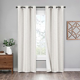 Eclipse Griffin 2-Pack Grommet Blackout Window Curtain Panels