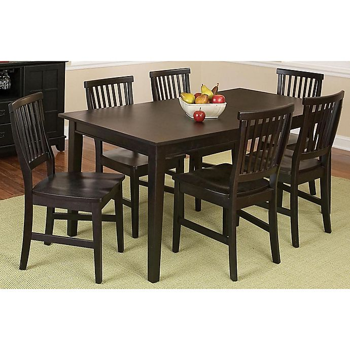 Alternate image 1 for Home Styles Arts & Crafts 7-Piece Rectangular Dining Set