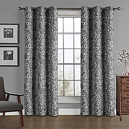Branches 84-Inch Rod Pocket Window Curtain Panel
