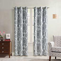 Starburst 84-Inch Grommet Window Curtain Panel (Single)