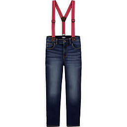 carter's® 2-Piece Jeans and Suspender Set
