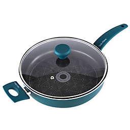 Taste of Home® Nonstick 4 qt. Aluminum Covered Saute Pan in Green