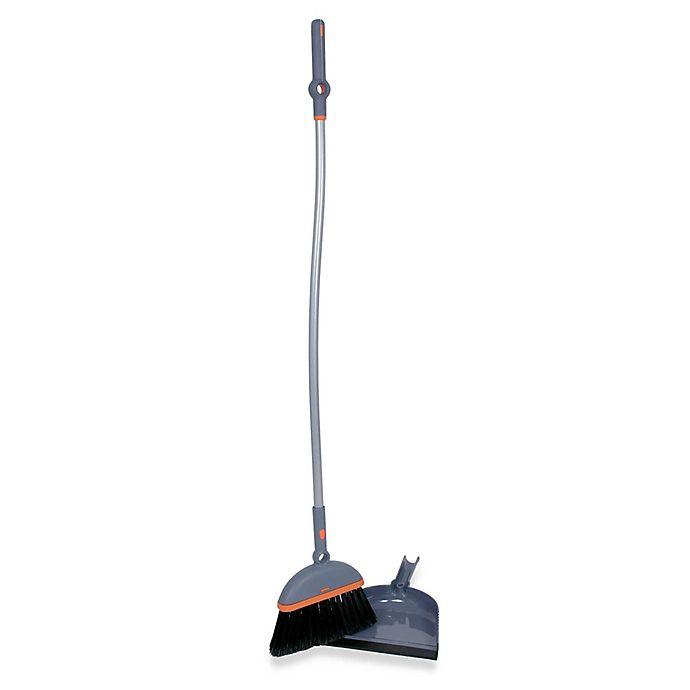 Alternate image 1 for Casabella® Ergo Broom & Dustpan