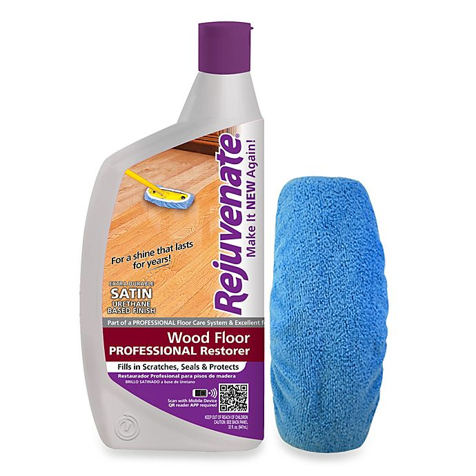 Rejuvenate 32 Ounce Professional Satin Finish For Wood Floors Bed
