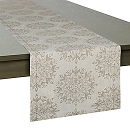 DII Winter Sparkle Table Runner in Winter