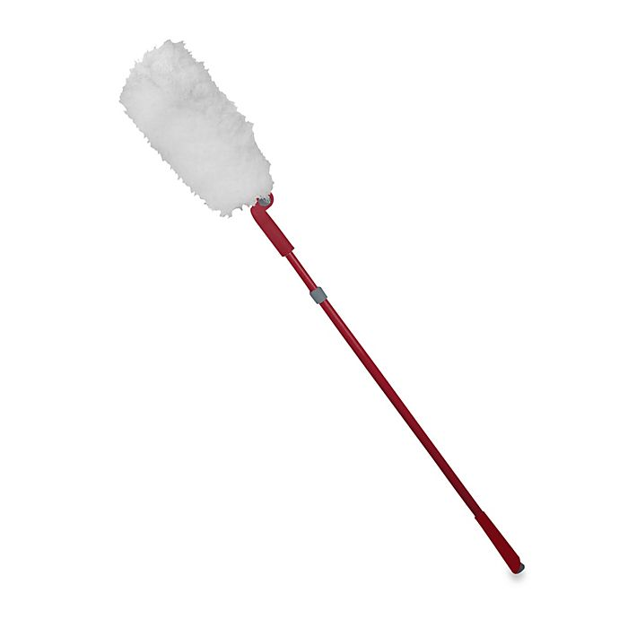 Alternate image 1 for Casabella® Extendable Duster with Pivot Head in Ruby
