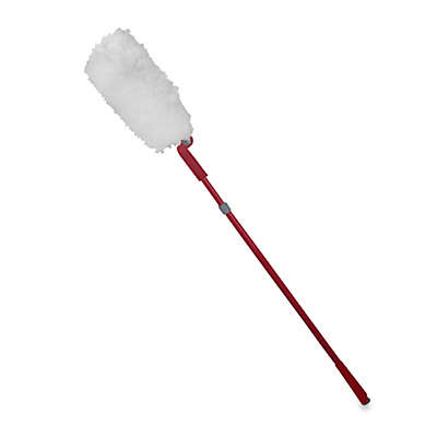 Casabella® Extendable Duster with Pivot Head in Ruby
