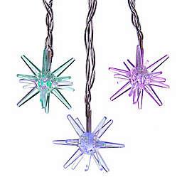 Kurt Adler 15-Light Starburst String Light Set