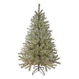 Northlight 6-Foot Metallic Tinsel Christmas Tree in Silver