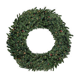 Northlight Canadian Pine Pre-Lit Artificial Christmas Wreath