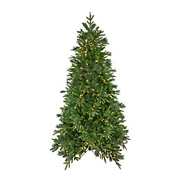 Northlight 7.5-Foot Colorado Mixed Pine Pre-Lit Christmas Tree with Warm White LED Lights