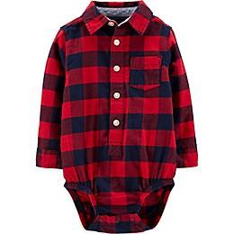 OsghKosh B'gosh® Buffalo Plaid Bodysuit in Red