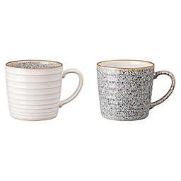 Denby Studio Grey Mugs (Set of 2)
