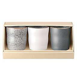 Denby Studio Grey Handleless Mugs (Set of 3)