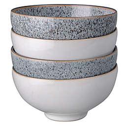 Denby Studio Grey Rice Bowls in White (Set of 4)