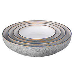Denby Studio Grey 4-Piece Nesting Bowl Set