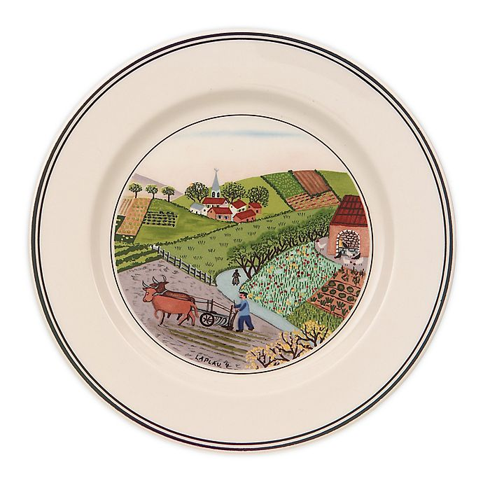 Alternate image 1 for Villeroy & Boch Design Naif Plowing Bread and Butter Plate