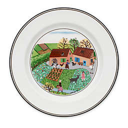 Villeroy & Boch Design Naif Family Farm Bread and Butter Plate