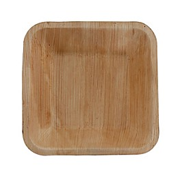 Jodhpüri™ 50-Count 7-Inch Square Areca Leaf Bowls