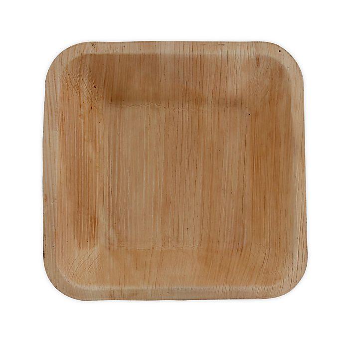 Alternate image 1 for Jodhpüri™ 50-Count 7-Inch Square Areca Leaf Bowls