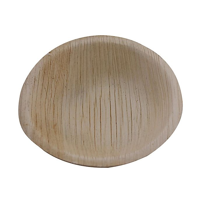 Alternate image 1 for Jodhpüri™ 25-Count 5-Inch Areca Leaf Disposable Bowls