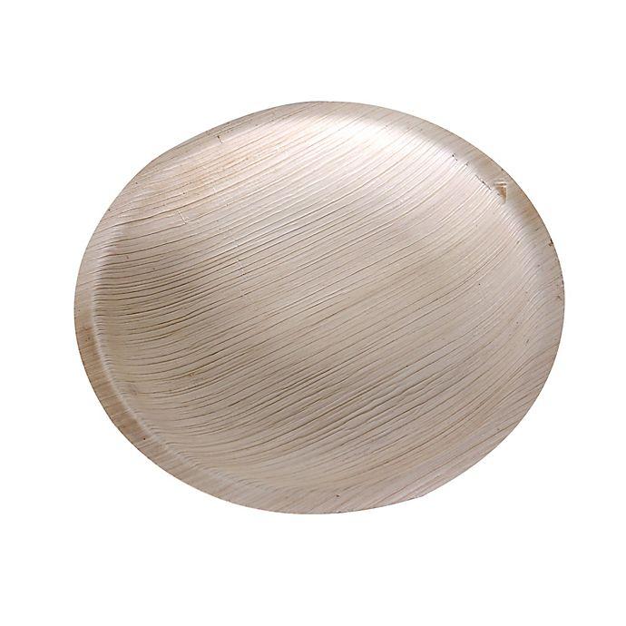 Alternate image 1 for Jodhpüri™ 50-Count 7-Inch Areca Leaf Disposable Bowls