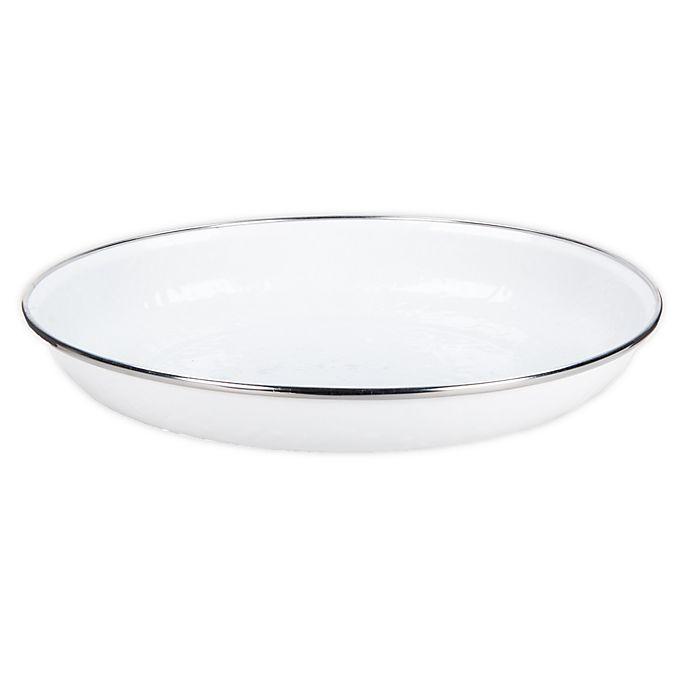 Alternate image 1 for Golden Rabbit® Solid White Pasta Plates (Set of 4)