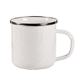 Golden Rabbit® Solid White Coffee Mugs (Set of 4)