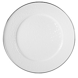 Golden Rabbit® Solid White Charger Plates (Set of 2)