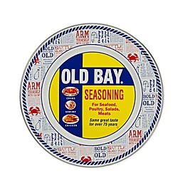 Golden Rabbit® Old Bay Dinner Plates in Yellow (Set of 4)